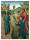 Decor Poster. Fine Graphic decorative  Art. Religious Scene. Wall Design 1352