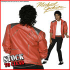 Fancy Dress MICHAEL JACKSON BEAT IT Jacket Red RRP £64.95