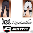 AKITO DESERT TRIPLE LAYER MOTORCYCLE SCOOTER MOTORBIKE BIKE TOURING TROUSERS