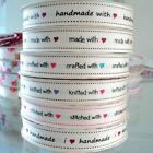 3m ROLL - BERTIES BOWS -  GROSGRAIN FABRIC RIBBON i ♥ h