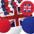 UK Patriotic Pride Great Britain Union Jack Party Decorations One Listing PS
