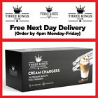 NEXT DAY DELIVERY - NITROUS OXIDE  CREAM CHARGERS & DISPENSERS - N2O NOS NOZ