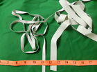 "WOW White Rubber Tape waistbands toys crafts repairs 3/8"" & 3/4"" FREE SHIP"