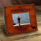CUSTOM PERSONALIZED CABIN PHOTO FRAMES CAMP HUNTING  9 DESIGNS - FREE SHIPPING!