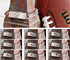 NFL FAN BRACELET - PERSONALIZED!  10 TOP TEAMS TO CHOOSE FROM! FREE SHIPPING!