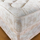 10 INCH ORTHOPAEDIC DEEP QUILTED DAMASK MATTRESS 2ft6 3ft 3ft6 4ft 4ft6 5ft 6ft