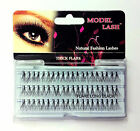 X 12 Packets MODEL LASH Natural Fashion Individual Lashes THICK FLARE The Best**