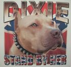 Dixie Tshirt Stand By Her Pitbull Redneck Rebel Southern Bred Pride Confederate