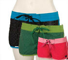Liquid Force Ladies SNAKE CHARMER Shorts, Size 8, pink or green. 40101