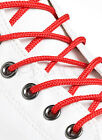 ROUND RED SHOE LACES LONG SHOELACES - 3mm wide - 11 LENGTHS - VERY HIGH QUALITY