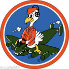 STICKER US ARMY AIR FORCE  701st Bomb Squadron - 445th  Bomb Group - 8th Air For