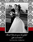 Wedding Thank You Photo prints  *Choose any design, Any color*  25 50 75 100 125