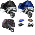 XL/XXL Motorcycle Motor Bike Scooter Waterproof UV Dust Protector Rain Cover