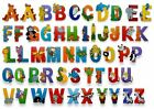 WOODEN JUNGLE ANIMAL ALPHABET LETTERS PERSONALISED BEDROOM WALL DOOR NAME