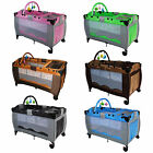 New Portable Child Baby Travel Cot Bed Bassinet Playpen Play Pen With Entryway