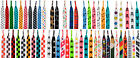 PATTERNED COLOURED FUNKY DESIGN FLAT SHOELACES LACES - 62 DESIGNS - 2 LENGTHS