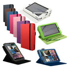 For Google Nexus 7 Leather 360 Rotating Case Screen Protector  With Wake Sleep