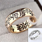 B1-R547 Men's Lord Of The Ring 6.5mm Band Width 18KGP US Size 5.5-11.5