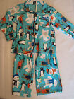 CARTERS Boys Size 2T 3T or 4 Choice Polyester Flannel Pajama NWT Sleepwear