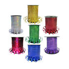 Holographic Curling Ribbon for Balloons and Crafts - 250m - Various colours