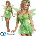 LADIES ADULT TINKERBELL FANCY DRESS COSTUME FAIRY DISNEY FAIRYTALE OUTFIT