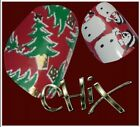 CHIX Nail Wraps Foils CHRISTMAS  Finger Toes Trendy Vinyl Art Nails Santa Snow