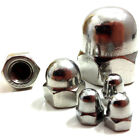 M12 (12mm) A2 STAINLESS STEEL DOME NUTS - DIN 1587 - METRIC THREAD - QUAD, BIKE