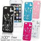 NEW STYLISH GRIP HARD CASE COVER FOR APPLE IPHONE 5 5G FREE SCREEN PROTECTOR