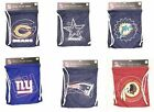 NFL Team Back pack Tote Draw string Bag Several Teams available