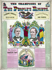 Decor Poster. Fine Graphic Home Art Design. Champions of the Peoples right. 2714