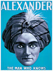 Decoration Poster.Fine Graphic Art Design. Alexander the man who Knows. 2769