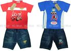 New Pixar Car/Thomas  Boy Toddler Outfit Sets 2PCS Top+ Pant at size1.2.3.4.5.6