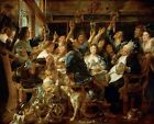 Photo Print Reproduction Feast Of Bean King Jacob Jordaens Other Sizes Ava