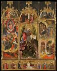Altarpiece Saint Michael Archangel Attributed Joan Mates Firstqu- Arter of 15th