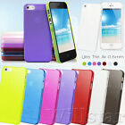 Ultra Thin 0.5mm Hard Case Cover For Apple iPhone 5 5G and Free Screen Protector