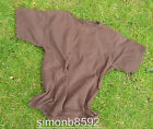 UK BRITISH ARMY SURPLUS ISSUE BROWN CREW NECK 100% COTTON T-SHIRT SHORT SLEEVE