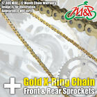 Kawasaki ZX750 H2 ZXR750 1990 Gold XRing Chain and Sprocket Kit