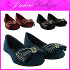 NEW LADIES CASUAL SUMMER BEACH FLAT BALLERINAS DOLLY BALLET PUMPS SIZES UK 3-8
