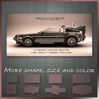 ' Back To The Future ' Movie Film Canvas Wall Art Deco