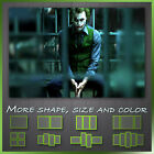 The Joker Batman Movie Abstract Framed Canvas Wall Art Deco ~ More Size & Style
