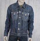 True Religion JIMMY Super T Jacket Collateral wash distressed M24900U56