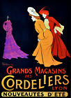 Grands Magasins des Cordeliers Decorative Poster. Home Graphic Art Design. 4091