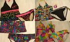 TOTAL GIRL Size 14 16-1/2 18-1/2 12-1/2 Plus Choice 2-Piece Swimsuit Set NWT