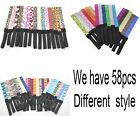 58 colors GLITTERY HEADBAND colorful Stretch SPARKLY Softball Sports Headbands