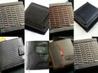 Brand New HQ Stylish Mens Genuine Cowhide Leather Wallet Card Holder Pouch