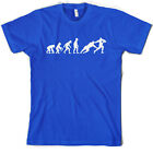 Evolution of Man Rugby Mens T-Shirt- Gift / Jersey / Union / 10 Colours S-XXL