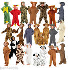 BOYS GIRLS CHILDRENS FARM ZOO ANIMAL BOOK DAY DELUXE FANCY DRESS COSTUME ALL ONE