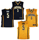 Adidas Indiana Pacers NBA Replica FORD # 5 Basketball Jerseys I Yellow OR Navy on eBay