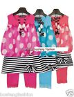 girls kids children  2/3pc dress leggings set party beach summer long top mini