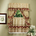 Sunflower Complete 5 Pc. Cottage Kitchen Curtain Set - Assorted Sizes